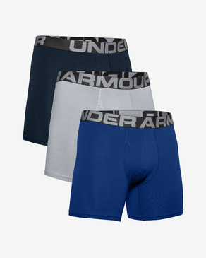 "Under Armour Charged Cotton® 6"" Oprijete boksarice 3 Piece"