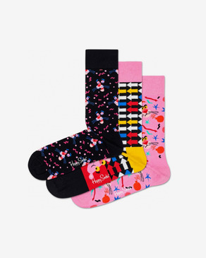 Happy Socks Pink Panther Nogavice 3 para