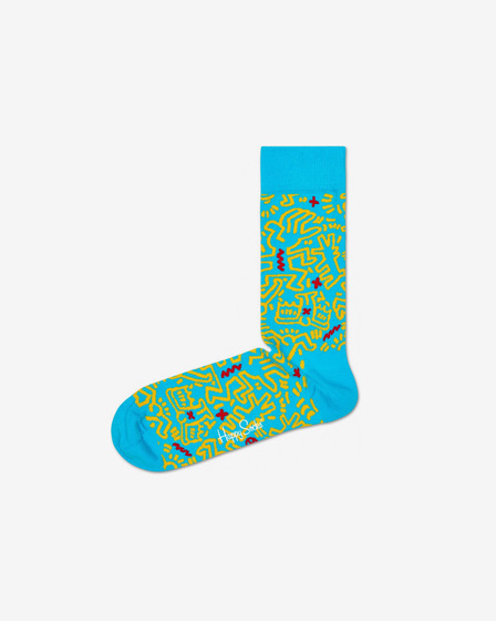 Happy Socks Keith Haring All Over Nogavice