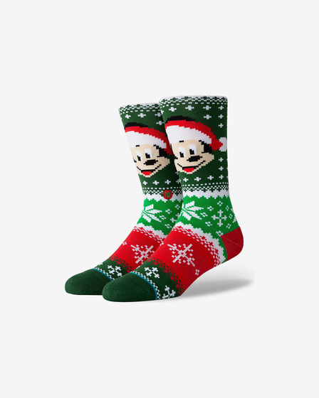 Stance Mickey Claus Nogavice