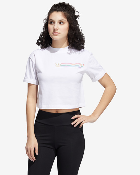 adidas Originals Pride Linear Cropped Majica