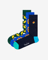 Happy Socks Junk Food Gift Box Nogavice 3 para